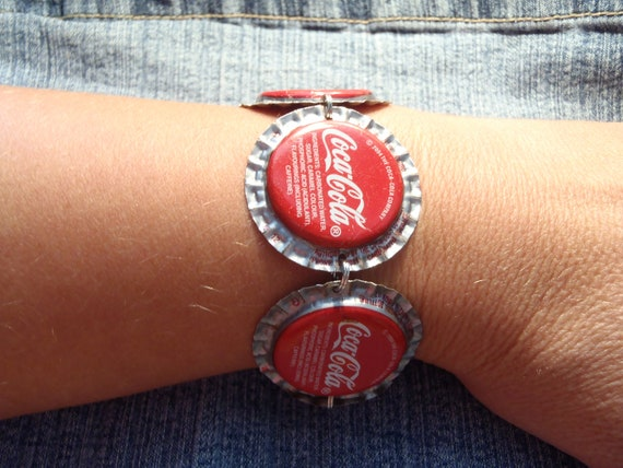 Coca Cola Bottle Cap Bracelet