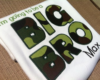 Big Bro Shirt - Big Brother Shirt - Announcement