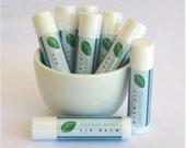 Natural Lip Balm, Herbal Mint Lip Balm, Olive Oil Lip Balm, Handmade Lip Balm
