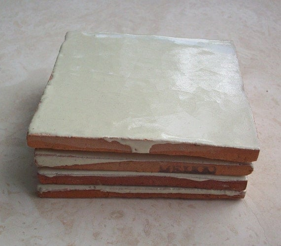 Vintage Terra Cotta Tile Made In Mexico With By Nenafayesattic