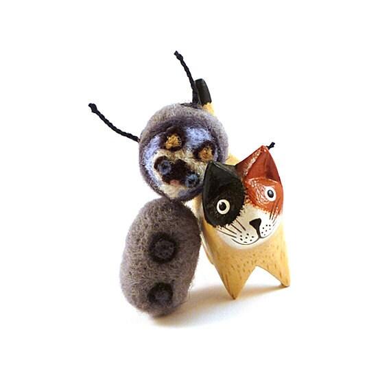Siamese Space Cat Wool Catnip Cat Toy