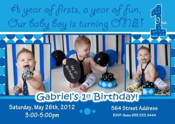 everything one boy invite everything one boy birthday, invitation samples