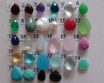 Sale-Personalized Birthstones-Briolette