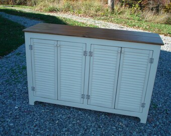 French Chic Sideboard, Rustic Buffet, Sideboards and buffets