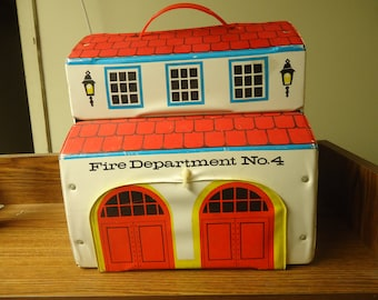 Fire Station No 4 Playset
