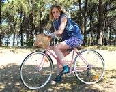 Bike shorts - Rain print bike pants - M/L