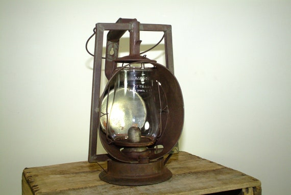 Antique Dietz Railroad Inspector Lantern