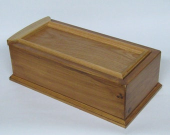 Large Wooden Box From Pine and Oak