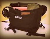 Waterproof Cordura Messenger Bag, small, custom colors available