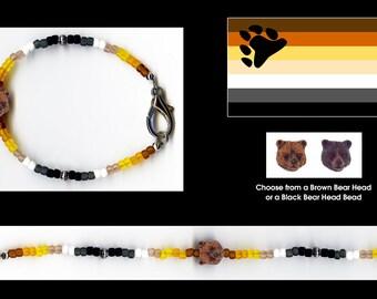 Gay Bear Pride Bracelet