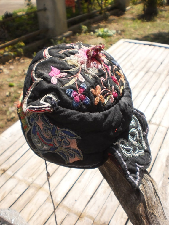 Hmong Vintage Tribal Baby Hats