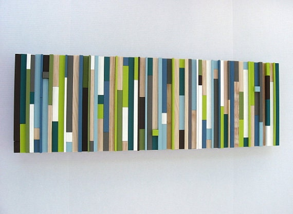 Modern Abstract Wood Wall Art Sculpture  Texture Abstract Painting Home Decor