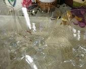 Elegant  Entertaining // Set of Seven Sherbet//Champagne or Cocktail Cut //  Etched Crystal Glasses