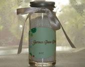 3 ounce bottle snow white German glass glitter