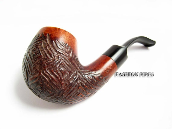 Unique NEW Briar Pipe, Rustic Tobacco Pipe/Pipes Smoking pipe Handmade Wooden pipe Limited edition wood pipes....Single Copy Pipe....