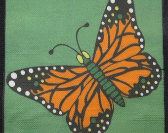 Printed Sew On Patch - BUTTERFLY 3 - Vest, Bag, Backpack, Jacket, T-Shirt