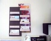 Business Card Display - filing system - desk organization - advertizing rack