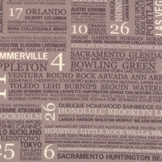 Hometown Town Square in Mist by Sweetwater for Moda - 1 yard