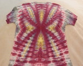 Tie Dyed T-Shirt - Flower - Adult Medium