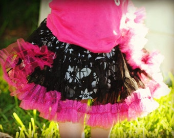 Girl's Skirt Sewing Pattern, INSTANT DOWNLOAD, Madeline Tiered Pettiskirt Pattern, Toddler Pattern, Baby Pattern,