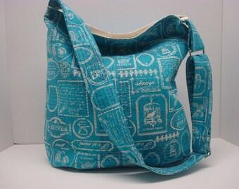 Cotton bucket bag