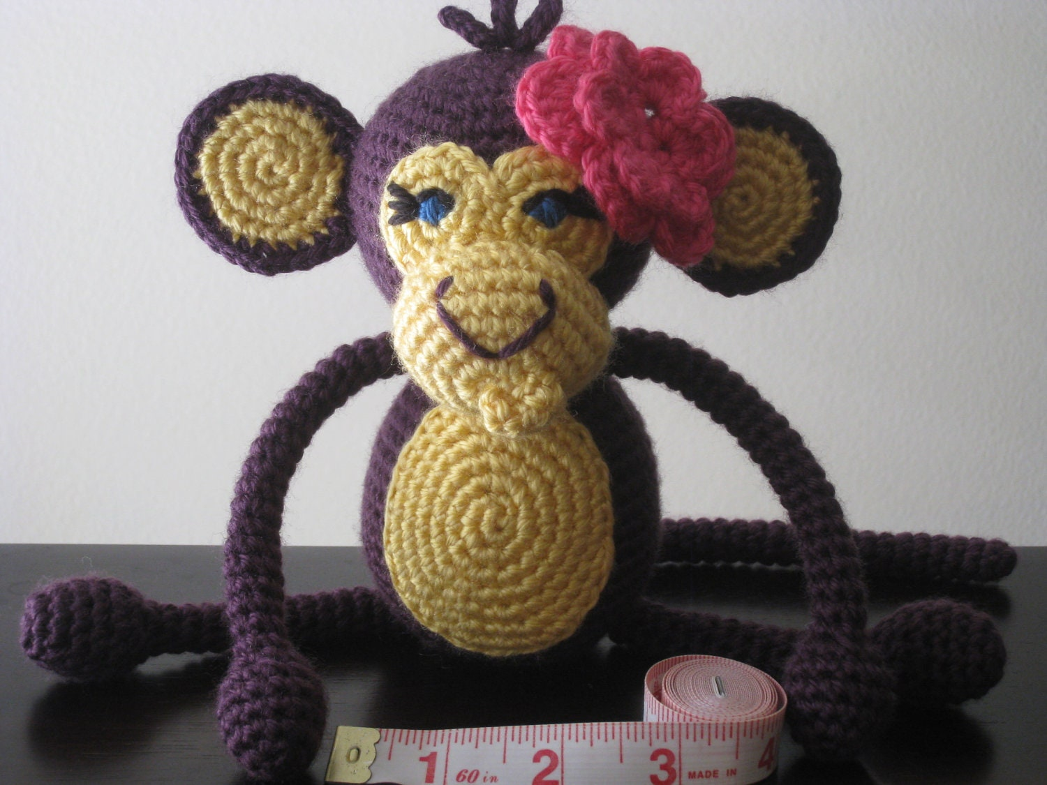 CROCHET PATTERN Crochet Baby Boy or Girl Monkey Pattern