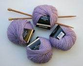 Yarn Destash Clearance Vera Moda Mousse - Mauve, Lilac, Lavender