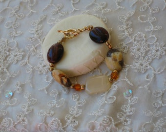 Fall Browns Bracelet