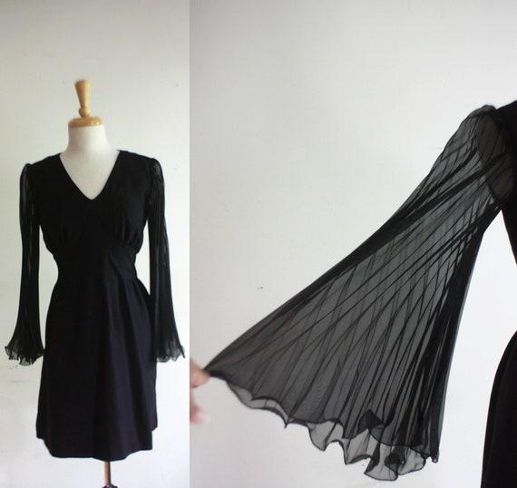 1960s Dress 60s Party Dress  - Megan Mad Men Zou Bisou Bisou  - Size: M/L