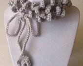 Single Loop Handmade Crochet Necklace