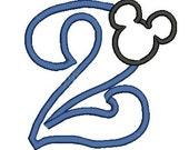 Mickey Mouse Applique Design, Applique Number, Mickey Mouse Design, Disney Applique (86) Instant Download
