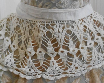Victorian Hand Crocheted Trim