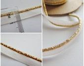 Gold Piping trim 2metres gold trim