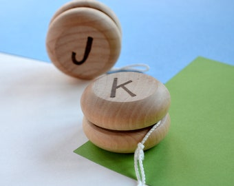 Personalized Wooden Yo Yo