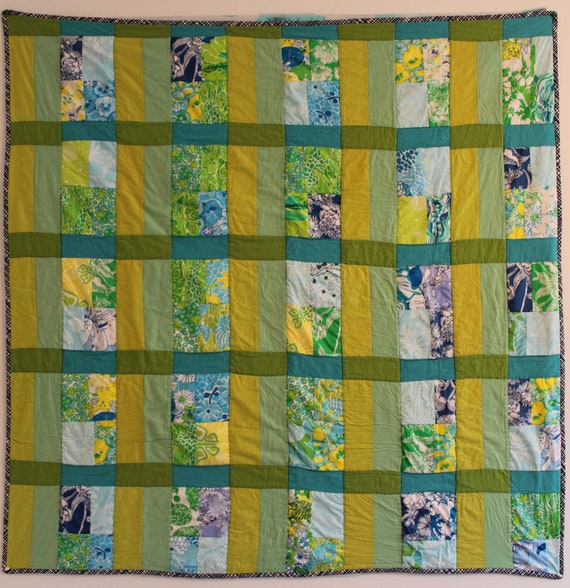 Key West Floral Quilt - Throw size