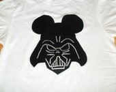 Disney Star Wars inspired Darth Vader in Mouse ears