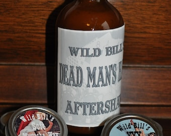 Deluxe Dead Man's Hand Aftershave Gift Set
