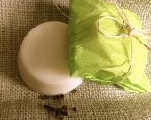 Unisex Natural Deodorant Balm Bar - Clove or Rosemary, Organic