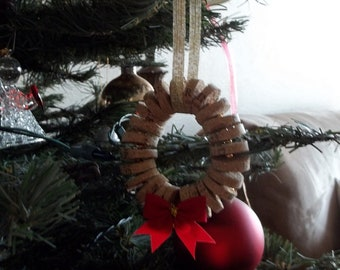 Wine Cork Wreath Ornament/Decor