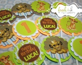 Simba the Lion King Cupcake Toppers