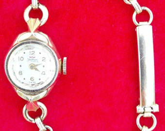 CLEARANCE Vintage Waltham 17J Ladies Watch with Van Dell Scarab band professionally SERVICED works Shop or Layaway for Christmas Now