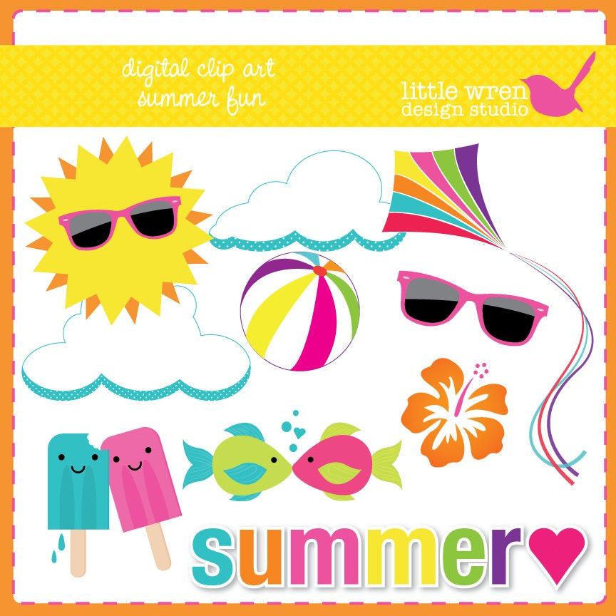 summer clipart etsy - photo #3