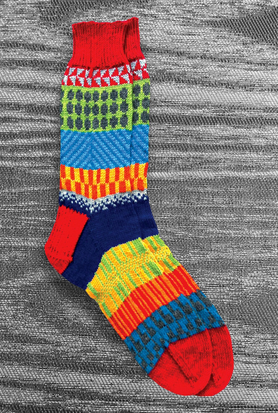 Knitting Pattern Wool Socks : Socks Hand Knit Socks Men Women Unique Socks Boho Socks by LizSox