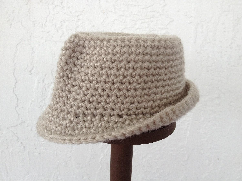 Crochet Baby Fedora Pattern ~ Dancox for .