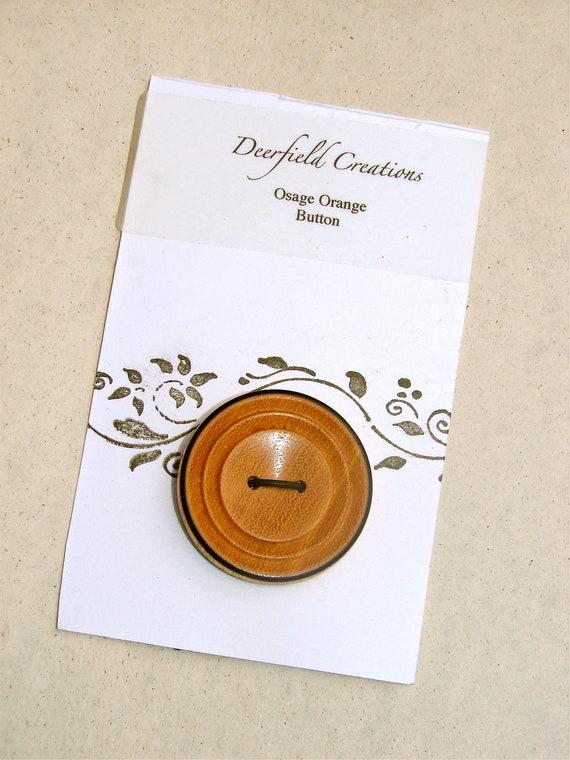 Osage Orange Button