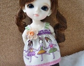 Ballet Brown Set / Outfit for Lati yellow, PukiFee