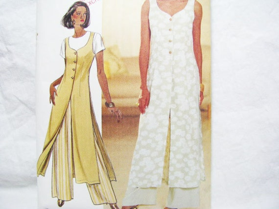 Pattern Butterick 3303 Vest Pants Sewing  - Fast & Easy BEGINNER Friendly - Miss Sz. 12  14  16  Petite-able   1994