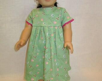 Short sleeve knit doll dress