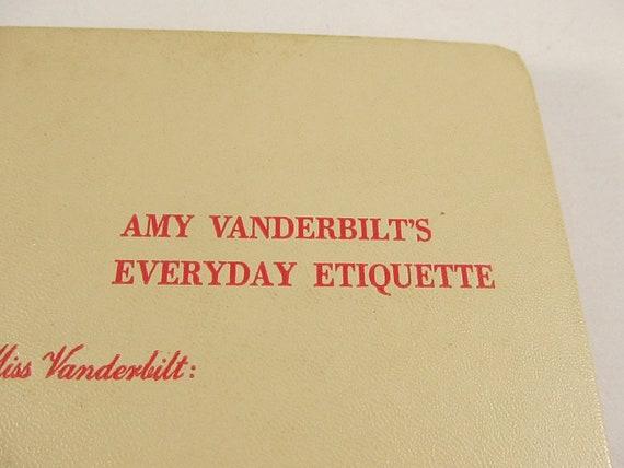 Vintage 1956 Copy of Dear Miss Vanderbilt