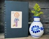 Vintage Old Maid Journal/Sketchbook/Notebook - Eric Faintheart